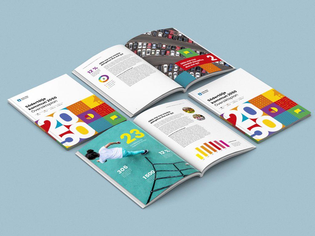 En designad broschyr